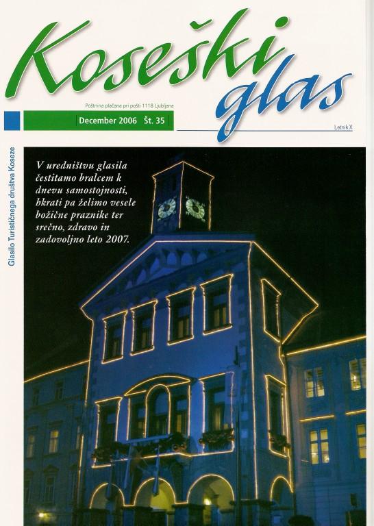 Koseški glas št. 35, december 2006