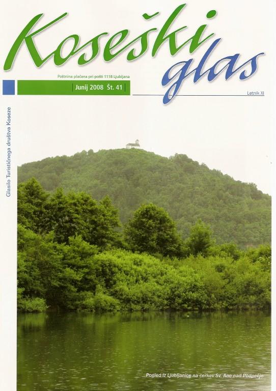 Koseški glas št. 41, junij 2008