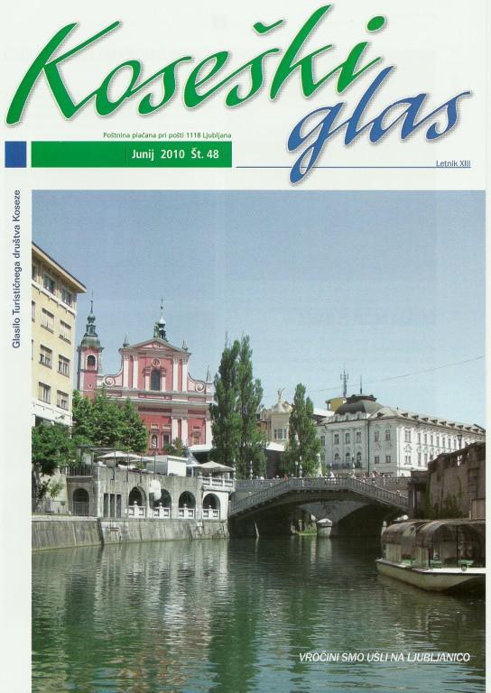 Koseški glas št. 48, junij 2010
