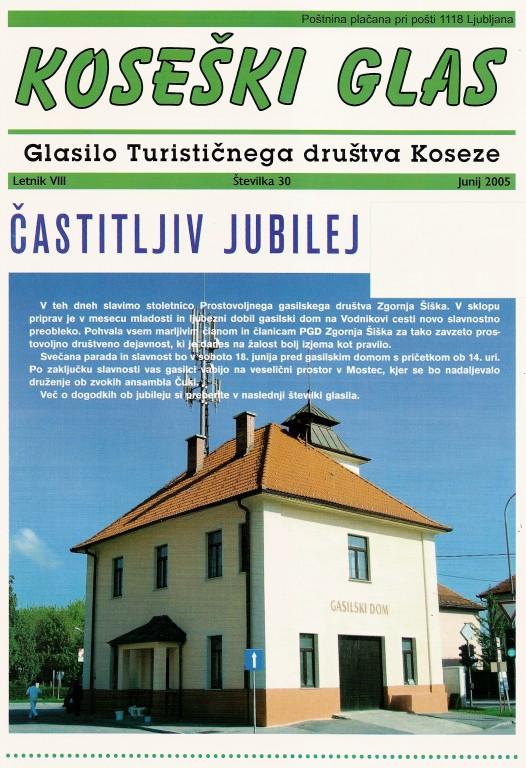 Koseški glas št. 30, junij 2005