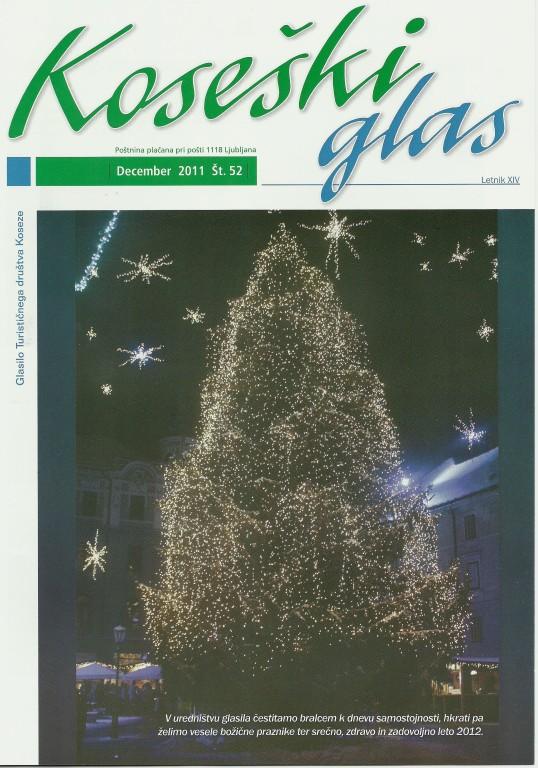 Koseški glas št. 52, december 2011